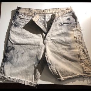Wrangler Shorts - Men's edgy wrangle jean shorts
